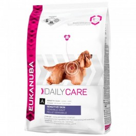Eukanuba Chien Daily Care Sensitive Skin 12 kg - Dogtor