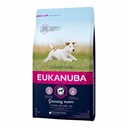 Eukanuba Growing Puppy Petite Race au poulet 3 kg - Dogtor