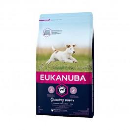 Eukanuba Growing Puppy Petite Race au poulet 7.5 kg - Dogtor