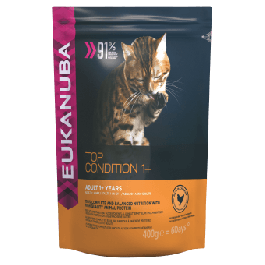 Eukanuba Top Condition Adult 1+ Years Rich in Chicken Dry Cat Food 400g