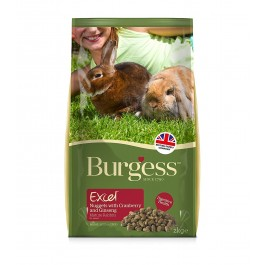 Excel Mature Rabbit Nuggets with Cranberry & Ginseng 2kg - Dogtor