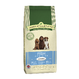 James Wellbeloved Junior Dog Fish & Rice 2kg