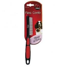Mikki Soft Grip Flea Comb - Dogtor