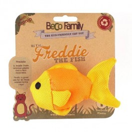 BECO Plush Freddie The Fish Catnip Toy - Dogtor