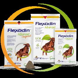 Flexadin Advanced  (avec Boswellia) 60 bouchées - La Compagnie des Animaux
