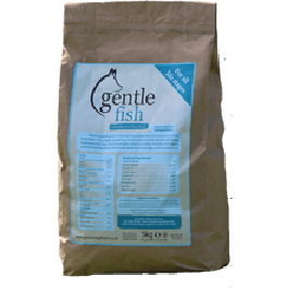 Gentle Fish Cold Pressed Dog Food 14kg - Dogtor