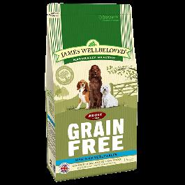 James Wellbeloved Adult Dog Grain Free Fish & Vegetables 1.5kg