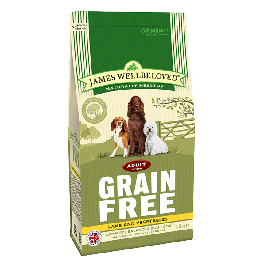 James Wellbeloved Adult Dog Grain Free Lamb & Vegetables 10kg