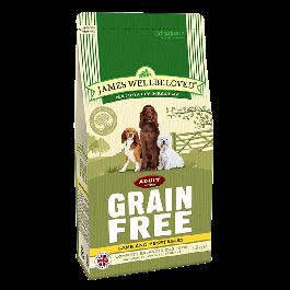 James Wellbeloved Adult Dog Grain Free Lamb & Vegetables 1.5kg