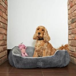 "Gor Pets Dream Grey Stone Slumber Bed - 26"" - Dogtor"