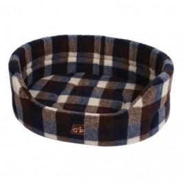 "Gor Pets Highland Autumn Check Premium Bed - 32"" - Dogtor"