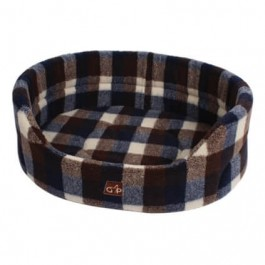 "Gor Pets Highland Autumn Check Premium Bed - 36"" - Dogtor"