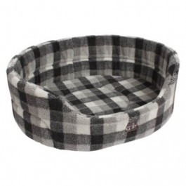 "Gor Pets Highland Winter Check Premium Bed - 20"" - Dogtor"