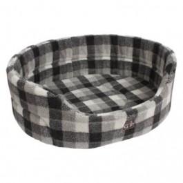 "Gor Pets Highland Winter Check Premium Bed - 36"" - Dogtor"