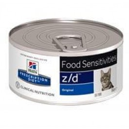 Hill's Prescription Diet Feline Z/D Ultra Allergen BOITES 24 x 156 grs - Dogtor