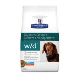 Hill's Prescription Diet Canine W/D MINI au poulet 6 kg - Dogtor