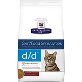 Hill's Prescription Diet Feline D/D Chevreuil et Petits Pois 1.5 kg - Dogtor