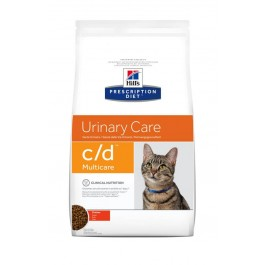 Hill's Prescription Diet Feline C/D Multicare au poulet 5 kg - Dogtor