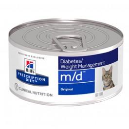 Hill's Prescription Diet Feline M/D Foie BOITES 24 x 156 grs - Dogtor
