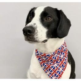 Proper Dog GB Union Jack Print Bandana - Medium - Dogtor