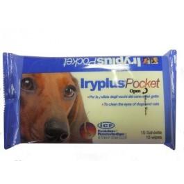 Vetruus Iryplus Pocket Eye Wipes - Dogtor