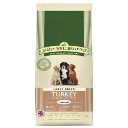 James Wellbeloved Junior Dog Large Breed Turkey & Rice 15kg