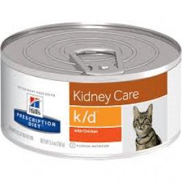 Hill's Prescription Diet Feline K/D Poulet BOITES 24 X 156 grs - Dogtor