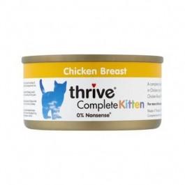 Thrive 100% Chicken Complete Kitten Wet Food 12 x 75g - Dogtor
