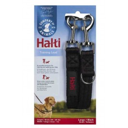 Halti Black Training Lead - Large