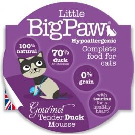 Little BigPaw Gourmet Tender Duck Mousse for Cats 8 x 85g - Dogtor