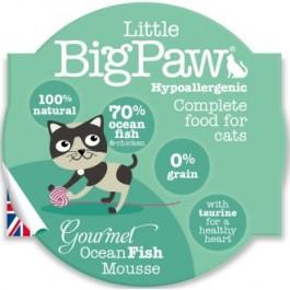 Little BigPaw Gourmet Atlantic Ocean Fish Mousse for Cats 8 x 85g - Dogtor