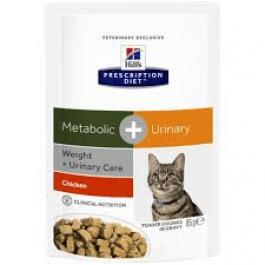 Hill's Prescription Diet Metabolic + Urinary Feline Pouches