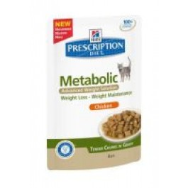 Hill's Prescription Diet Metabolic Feline Pouches