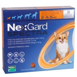 Nexgard Spectra XS - Dogtor.vet