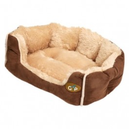 """Gor Pets Nordic Brown Snuggle Bed - 24"""" - Dogtor"""