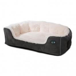 "Gor Pets Nordic Grey Snuggle Bed - 28"" - Dogtor"