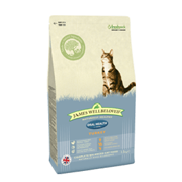 James Wellbeloved Adult Cat Oral Health Turkey & Rice