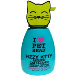 Pet Head Fizzy Kitty Mousse 190ml - Dogtor