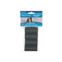Ancol Poop Bag Dispenser Refill (pack of 60)