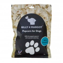 Billy + Margot Popcorn with Seaweed 20g - Dogtor