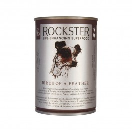 Rockster Birds of a Feather Tin 400g - Dogtor