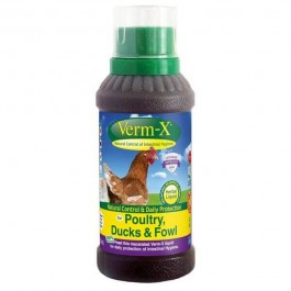Verm-X Poultry Herbal Liquid 250ml - Dogtor