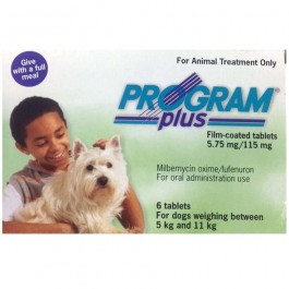 Program Plus for small dogs 5-11kg (6 tablets) - Dogtor