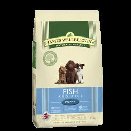 James Wellbeloved Puppy Fish & Rice