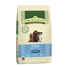James Wellbeloved Puppy Fish & Rice