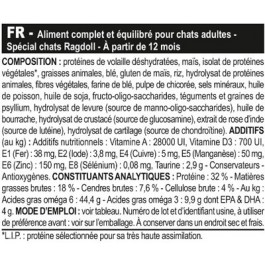 Royal Canin Chat Adult Ragdoll 2 kg- La Compagnie des Animaux