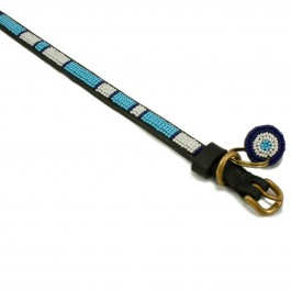 Malulu Kilifi Blue Regular Dog Collar - Micro - Dogtor