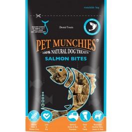 Pet Munchies Salmon Bites Dog Treats 90g - Dogtor