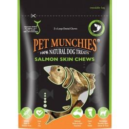 Pet Munchies Salmon Chews Dog Treats 125g - Large - Dogtor