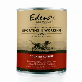 Eden 'Country Cuisine' Wet Dog Food 400g - Dogtor